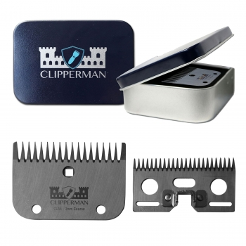 Clipperman CLA7 High Quality Steel Blade Set