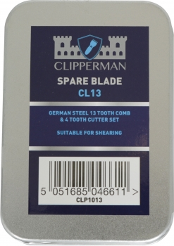 Clipperman CL13 Agri High Quality Steel Blade Set